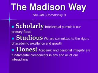 Scholarly Intellectual pursuit is our primary focus