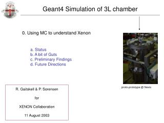 0. Using MC to understand Xenon