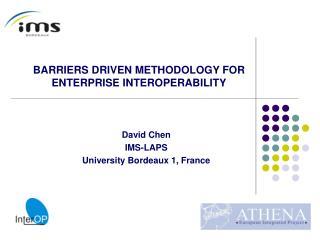 David Chen IMS-LAPS University Bordeaux 1, France