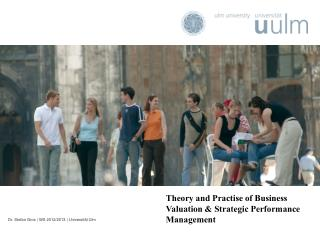 Theory and  Practise  of Business Valuation & Strategic Performance Management