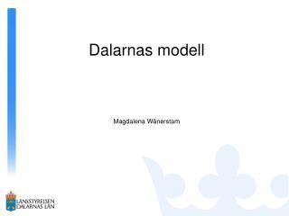 Dalarnas modell