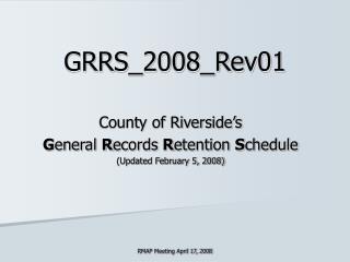 GRRS_2008_Rev01
