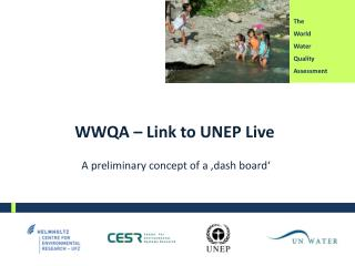 WWQA – Link to UNEP Live