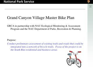 Grand Canyon Village Master Bike Plan