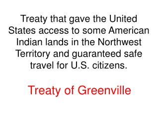 Treaty of Greenville