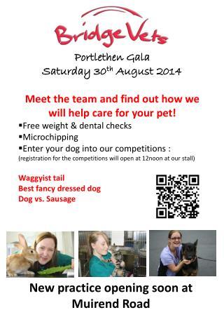 Portlethen  Gala   Saturday 30 th  August  2014
