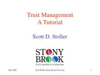 Trust Management A Tutorial