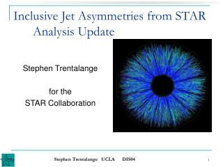 Inclusive Jet Asymmetries from STAR       Analysis Update