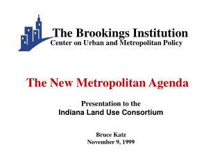 Bruce Katz November 9, 1999