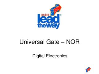 Universal Gate � NOR