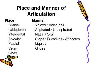 Phonetics & Phonology Tutorial (answers)