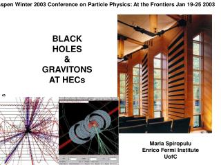 Aspen Winter 2003 Conference on Particle Physics: At the Frontiers Jan 19-25 2003