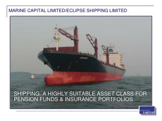 MARINE CAPITAL LIMITED/ECLIPSE SHIPPING LIMITED