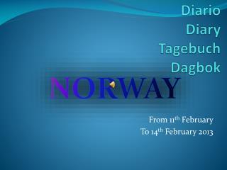 Diario Diary Tagebuch Dagbok