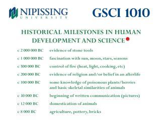 Gsci 1010