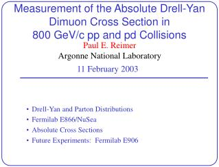 Measurement of the Absolute Drell-Yan Dimuon Cross Section in 800 GeV/c  pp  and  pd  Collisions