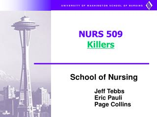 NURS 509  Killers