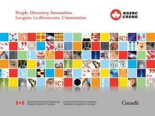 CCCESD Carleton University, Ottawa November 20, 2009