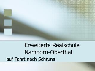 Erweiterte Realschule  Namborn-Oberthal