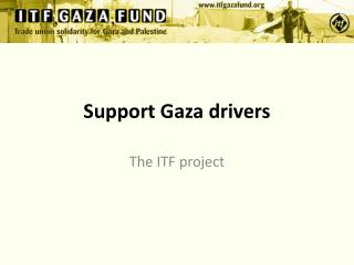 Support Gaza drivers