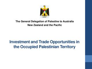 Investment and Trade Opportunities in the Occupied Palestinian Territory