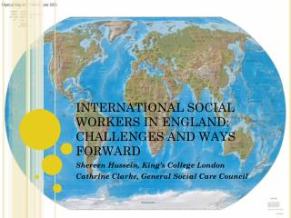 INTERNATIONAL SOCIAL WORKERS IN ENGLAND: CHALLENGES AND WAYS FORWARD