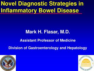 Novel Diagnostic Strategies in Inflammatory Bowel Disease