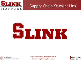 Supply Chain Student Link
