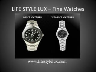 Lifestylelux watches