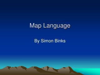 Map Language