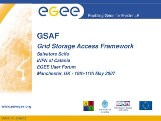 GSAF Grid Storage Access Framework