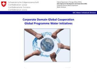 Corporate Domain Global  Cooperation Global  Programme  Water Initiatives
