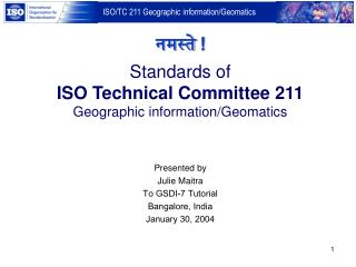 Standards of ISO Technical Committee 211 Geographic information
