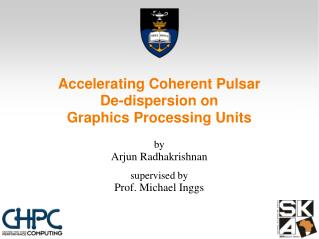Accelerating Coherent Pulsar De-dispersion on Graphics Processing Units