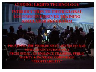 GUIDING LIGHTS TECHNOLOGY