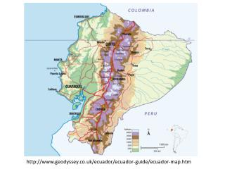 geodyssey.co.uk /ecuador/ecuador-guide/ecuador- map.htm