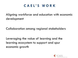 Aligning workforce and education with economic development
