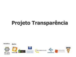 Projeto Transparência