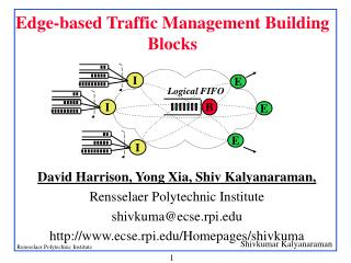 Edge-based Traffic Management Building Blocks