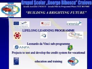 """BUILDING A BRIGHTING FUTURE"""