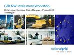 GRI NW Investment Workshop