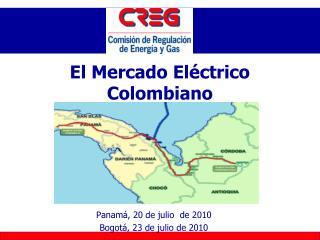 El Mercado Eléctrico Colombiano