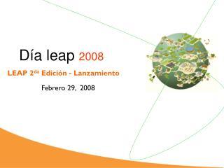 D�a  leap  2008