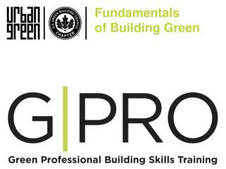 Fundamentals  of Building Green