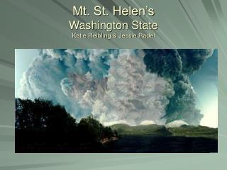 Mt. St. Helen's Washington State Katie Reibling & Jessie Radel