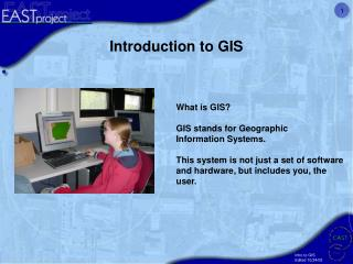 What is GIS? GIS stands for Geographic   Information Systems.