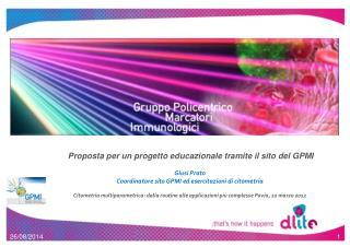 Proposta per un progetto educazionale tramite il sito del GPMI Giusi Prato