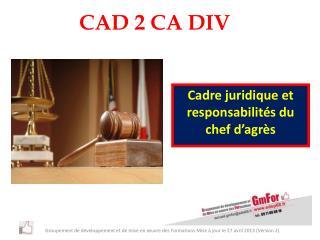 CAD 2 CA DIV