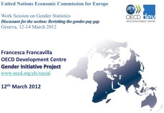 United Nations Economic Commission for Europe Work Session on Gender Statistics
