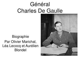 G�n�ral  Charles De Gaulle